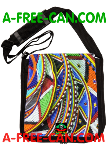 "Sac à Bandoulière: ""MASSAI v1"" by A-FREE-CAN.COM"