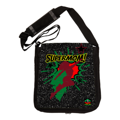 "Sac à Bandoulière: ""SUPERMOM (rbg version 1)"" by A-FREE-CAN.COM"
