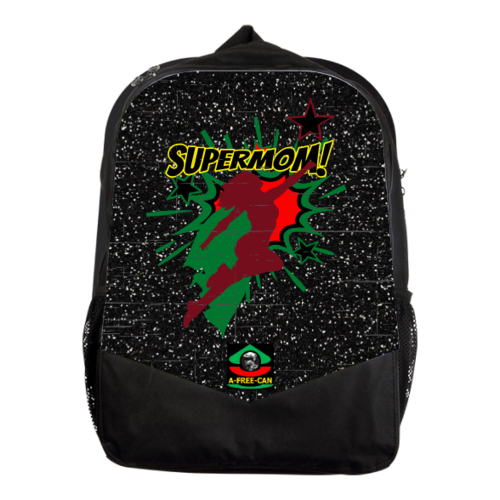 """SUPERMOM (rbg version 1)"" by A-FREE-CAN.COM (Grand Sac à Dos Vitoria)"