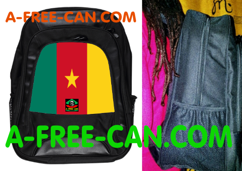 "Grand Sac à Dos: ""DRAPEAU CAMEROUN"" by A-FREE-CAN.COM"