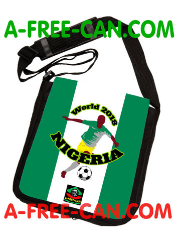 "Sac à Bandoulière: ""WORLD 2018 NIGERIA"" by A-FREE-CAN.COM"