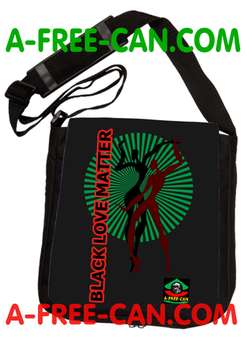 """BLACK LOVE MATTER vL2"" by A-FREE-CAN.COM - (Sac à Bandoulière)"