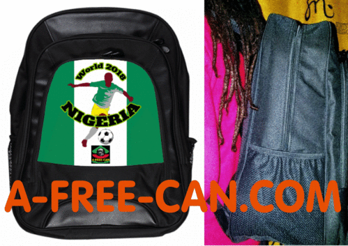 "Grand Sac à Dos: ""WORLD 2018 NIGERIA"" by A-FREE-CAN.COM"