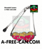 "BIJOUX, Bracelet Lovers : ""SAMBA v1"" by A-FREE-CAN.COM"
