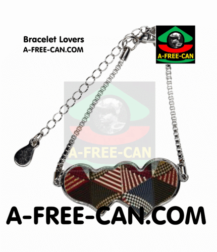 "BIJOUX, Bracelet Lovers : ""LUYALU v1"" by A-FREE-CAN.COM"