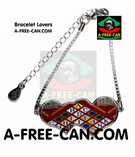 "BIJOUX, Bracelet Lovers : ""ETÉYELO v1"" by A-FREE-CAN.COM"