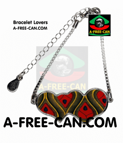 "BIJOUX, Bracelet Lovers : ""WANA v1"" by A-FREE-CAN.COM"