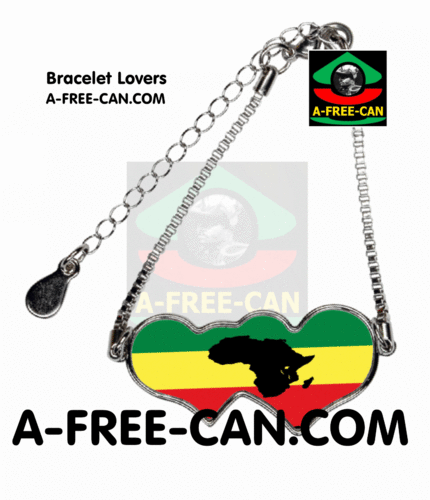 "BIJOUX, Bracelet Lovers : ""RASTA AFRIKA"" by A-FREE-CAN.COM"