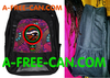 "Grand Sac à Dos: ""WAX OUDJAT RBG v1"" by A-FREE-CAN.COM"