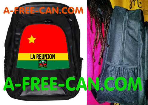 "Grand Sac à Dos: ""DRAPEAU LA REUNION FLAG vN2"" by A-FREE-CAN.COM"