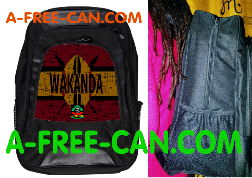 "Grand Sac à Dos: ""WAKANDA v1.2"" by A-FREE-CAN.COM"