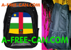 "Grand Sac à Dos: ""DRAPEAU CENTRAFRIQUE v1"" by A-FREE-CAN.COM"