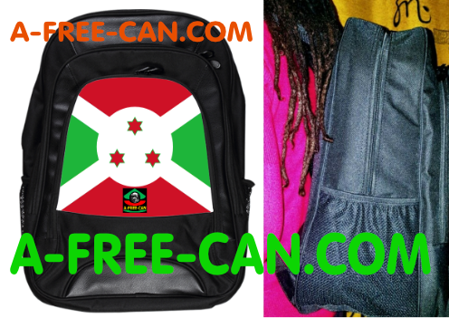 "Grand Sac à Dos: ""DRAPEAU BURUNDI"" by A-FREE-CAN.COM"