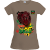 "T-SHIRT pour Femmes: ""HEAR ME ROAR BLACK LION"" par A-FREE-CAN.COM"