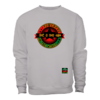 "SWEATSHIRT Col Rond, Unisex: ""POWERFUL KING IN THE WORLD rbg S2"" by A-FREE-CAN.COM"