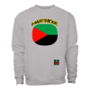 "SWEATSHIRT Col Rond, Unisex: ""MARTINIQUE DRAPEAU (v1a)"" by A-FREE-CAN.COM"