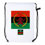 """KAMA YOGA (rbg v2)"" by A-FREE-CAN.COM - (Drawstring Backpack)"