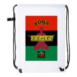 "Drawstring Backpack: ""YOGA KEMET RBG v1"" by A-FREE-CAN.COM"