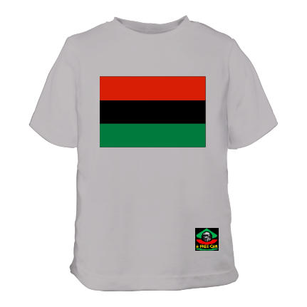 "T-Shirt pour Enfants: ""DRAPEAU PANAFRICAIN KWANZAA PANAFRICAN FLAG"" by A-FREE-CAN.COM"