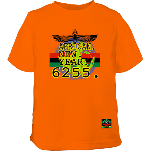 "T-SHIRT Unisex pour Enfants: ""AFRICAN NEW YEAR 6255 vKrbg2"" by A-FREE-CAN.COM"