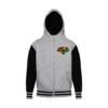"SWEATSHIRT Varsity à Capuche pour Enfants: ""LION OF KEMET (Heart Version)"" by A-FREE-CAN.COM"