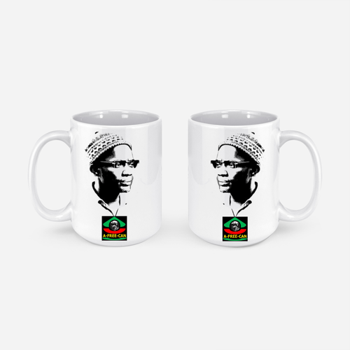 """DJASSY (Nom Africain d'Amilcar Cabral)"" by A-FREE-CAN.COM - (Pack de 2 Mugs)"