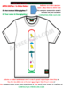 "T-SHIRT CUSTOMIZABLE, Unisex: ""MY NAME IN MEDU, TSC1"" by A-FREE-CAN.COM"