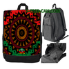 "Grand Sac à Dos: ""BOGOLAN KWANZAA v1"" by A-FREE-CAN.COM"