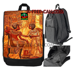 """BLACK LOVE KEMET ROYAL v2"" by A-FREE-CAN.COM - (Grand Sac à Dos)"