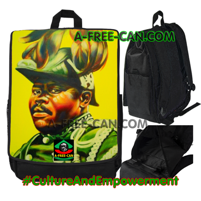 "Grand Sac à Dos: ""MAZA MAZAYA (marcus garvey) v1"" by A-FREE-CAN.COM"