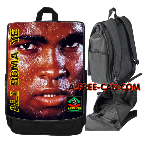 "Grand Sac à Dos: ""ALI BOMA YÉ v1"" by A-FREE-CAN.COM"