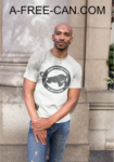 """BLACK PANTHER PARTY, BLACK POWER"" by A-FREE-CAN.COM - (T-SHIRT pour Hommes)"
