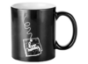 """2 MUGS MAGIQUES NOIRS KEEP MOVING"" - (33 CL)"