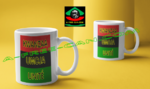 """BENDERE KWANZAA UMOJA v1"" by A-FREE-CAN.COM - (Pack de 2 Mugs)"
