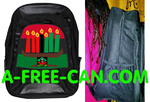 "Grand Sac à Dos: ""KWANZAA KINARA v1"" by A-FREE-CAN.COM"