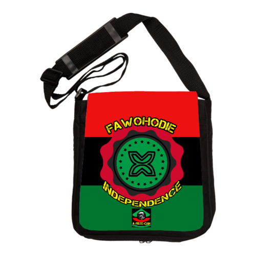 "Sac à Bandoulière: ""ADINKRA FAWOHODIE (INDEPENDENCE) v1"" by A-FREE-CAN.COM"