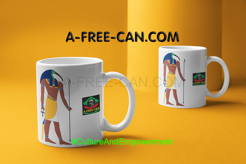 """THOT v1"" by A-FREE-CAN.COM - (2 Mugs par lot)"