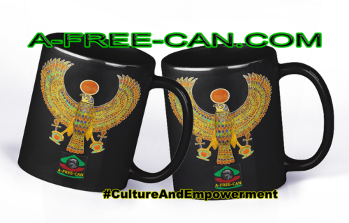 """RE-HORAKHTY, Un Trésor de Toutankhamon"" by A-FREE-CAN.COM - (2 Mugs par lot)"