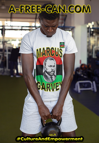 """MARCUS GARVEY v2"" by A-FREE-CAN.COM (T-SHIRT pour Hommes)"