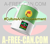 """ZAIRE v1"" by A-FREE-CAN.COM - (Mug)"