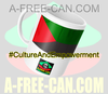 """MARTINIQUE v2"" by A-FREE-CAN.COM - (Mug Drapeau)"