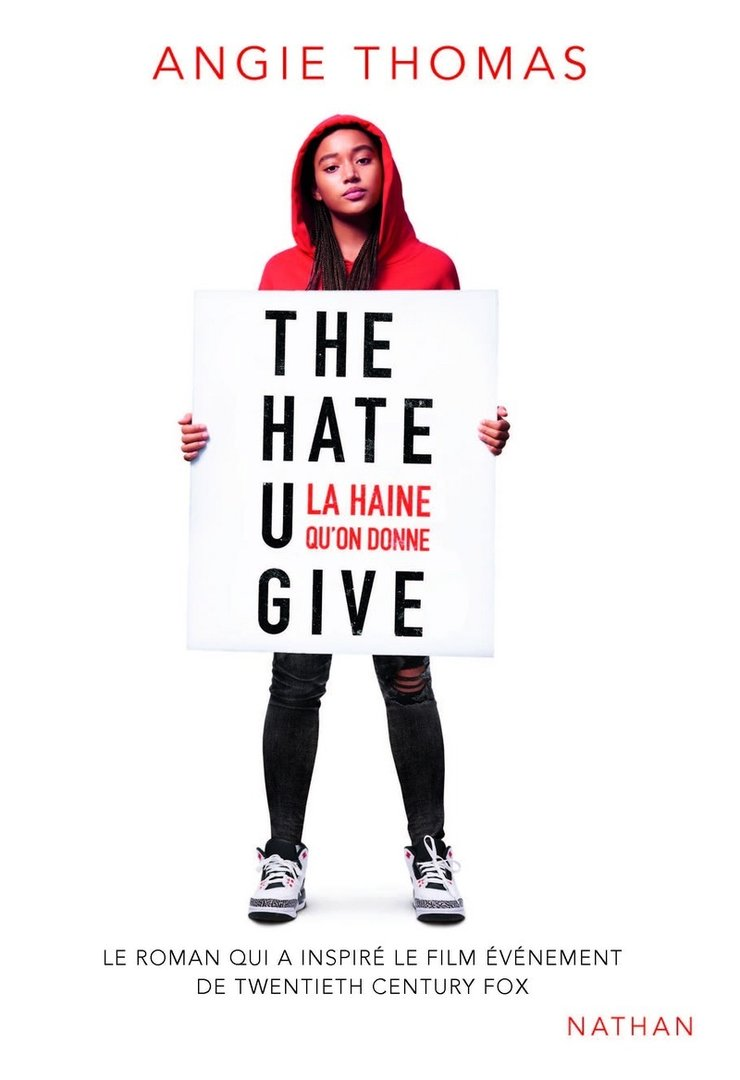 """THE HATE U GIVE - THUG, La Haine Qu'On Donne"" par Angie Thomas - (Livre, Roman)"