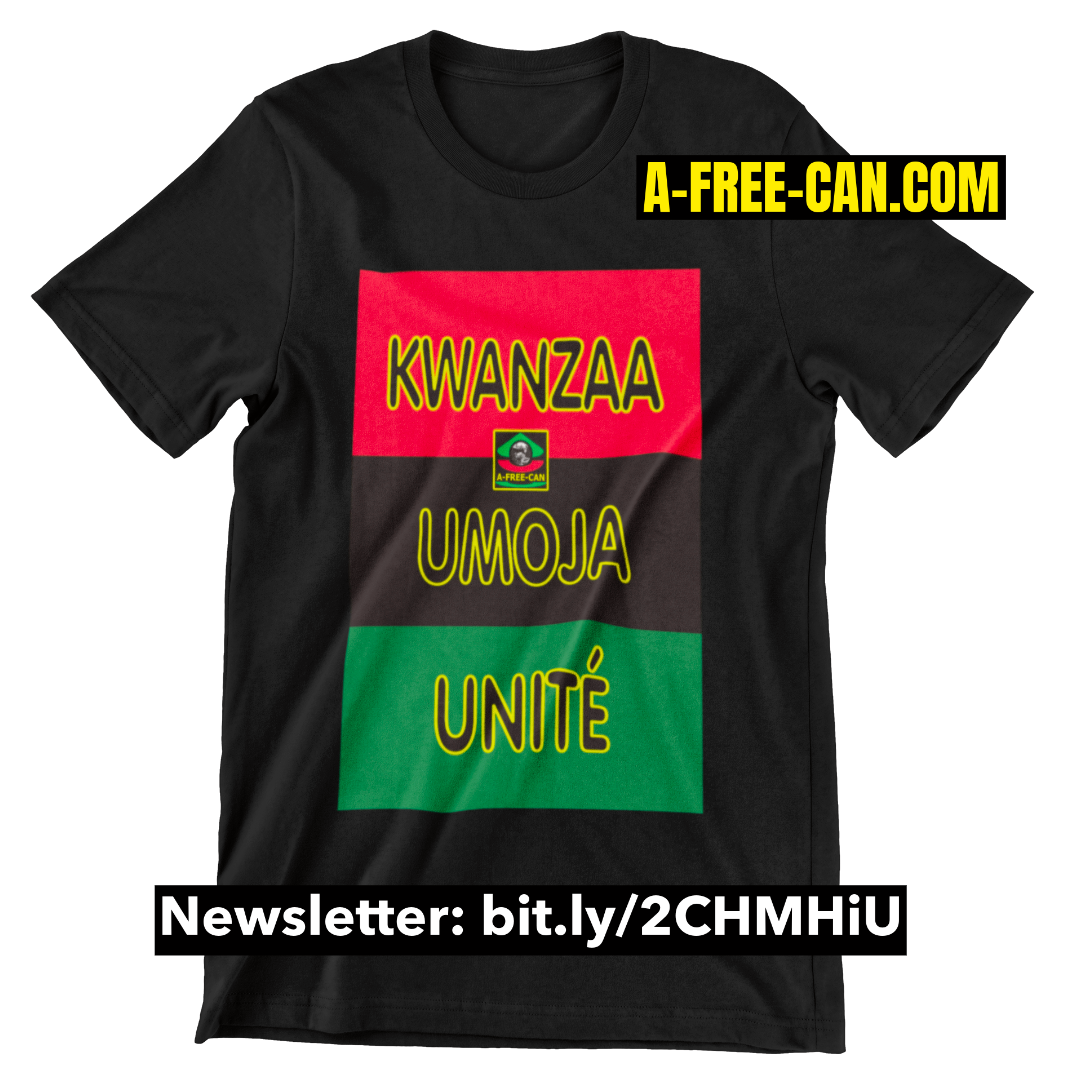 """BENDERE KWANZAA UMOJA v1"" by A-FREE-CAN - (T-SHIRT pour Hommes)"