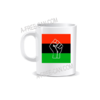 """DRAPEAU PANAFRICAIN BLACK POWER"" by A-FREE-CAN.COM - (Mug)"