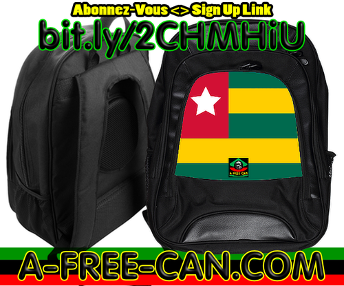 "Grand Sac à Dos: ""DRAPEAU TOGO (vWS)"" by A-FREE-CAN.COM"