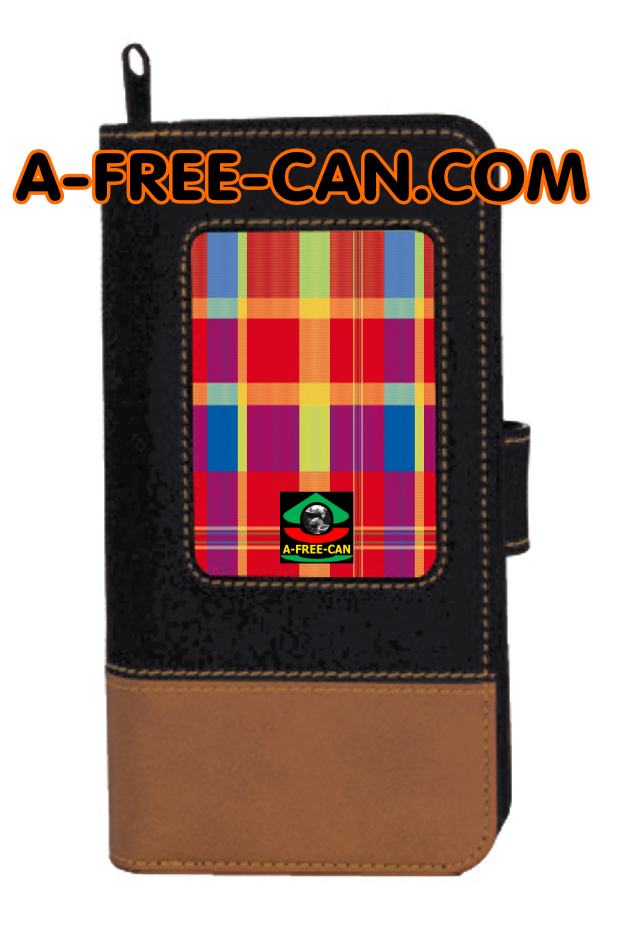"Portefeuille Madras: ""KONGO"" by A-FREE-CAN.COM"