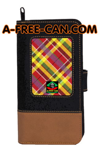 "Portefeuille Madras: ""MASIKIO"" by A-FREE-CAN.COM"