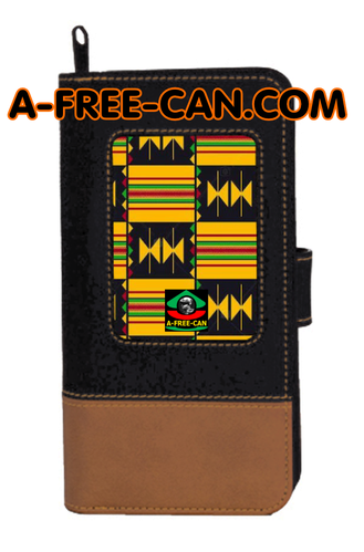 "Portefeuille Kwanzaa: ""KENTÉ WANE"" by A-FREE-CAN.COM"