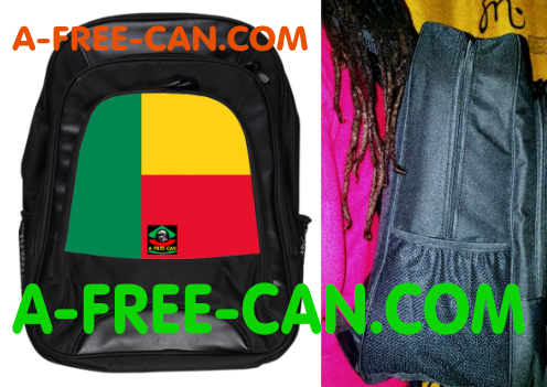 "Grand Sac à Dos: ""DRAPEAU BÉNIN"" by A-FREE-CAN.COM"