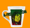 """BERHANE SELASSIE (bob marley)"" by A-FREE-CAN.COM - (Mug Conique)"
